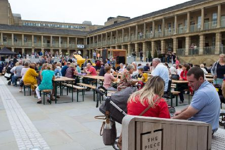 Chow Down event at the Piece Hall in Halifax