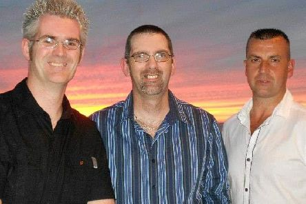 The Boden brothers - Simon, Tony and Chris.