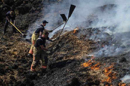 A protection order is being considered to stop fires and barbecues on Calderdale moorland