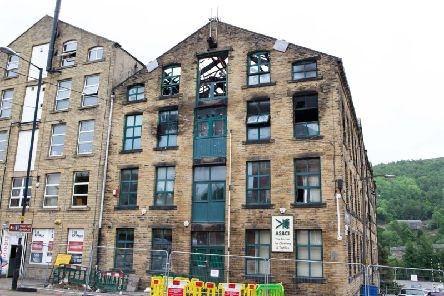 Firefighters were called to the mill at 3.10am on May 29