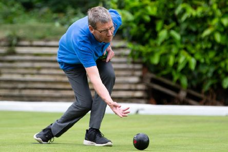 Halifax v Bury bowls in Federation National League. Pictured is Brendan Malone
