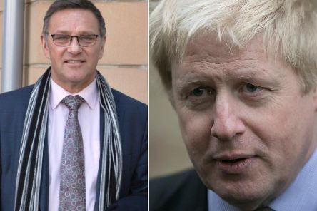 Calder Valley MP Craig Whittaker and new Conservative Party leader Boris Johnson