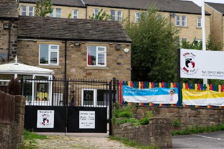 Little Foot Day Nursery in Luddenden