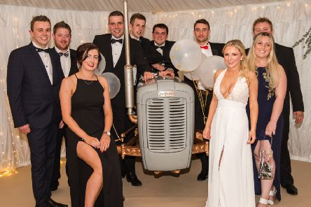 Knaresborough Young Farmers Club members at the 70th anniversary dinner dance. Image courtesy of Rachael Fawcett Photography.