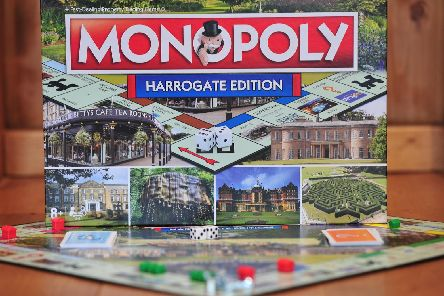 These are the Harrogate places featured on the game board.