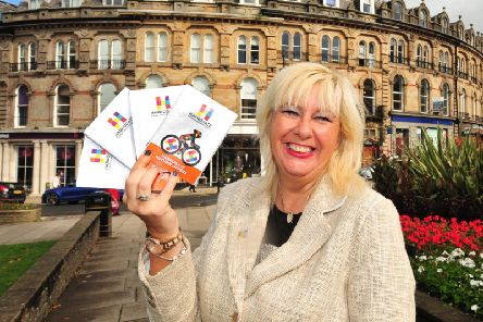 Elizabeth Murphy, now former Harrogate BID manager.