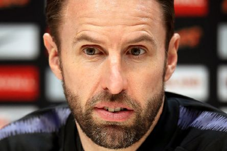 England manager Gareth Southgate: Welcomes support of Yorkshire fans.
