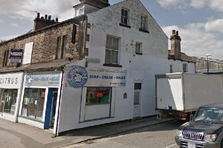 The former launderette building in Starbeck could be turned into a mini-market.