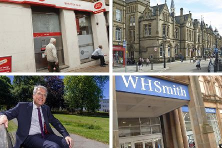 Harrogate MP Andrew Jones has been one of the most high profile voices to speak out against the plan to move Harrogate's Post Office into the WHSmith store. A similar thing happened to the Post Office in Halifax.