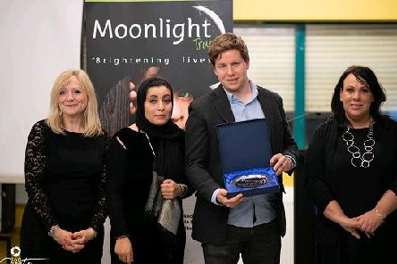 Tracy Brabin: MP of Batley and Spen, Noushin Raja: Moonlight Trust Founder and CEO, Jonathan Sanderson and Paula Sherriff, MP for Dewsbury