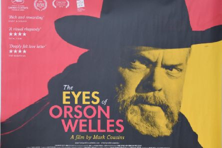 Harrogate Film Festival visit and screening - Mark Cousins' award-winning The Eyes of Orson Welles.
