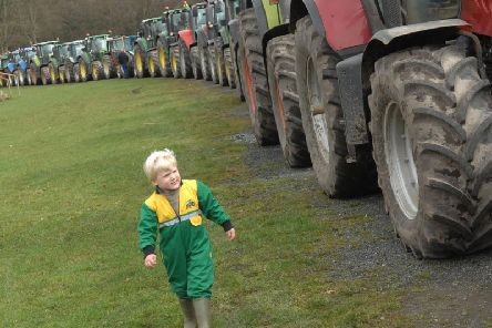 The Knaresborough to Nidderdale tractor run will raise funds to aid the Yorkshire Air Ambulance