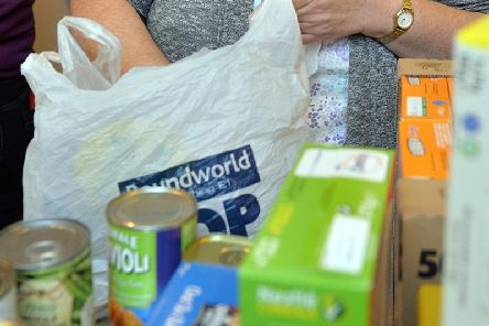 Donations can again be made to the Harrogate District Foodbank
