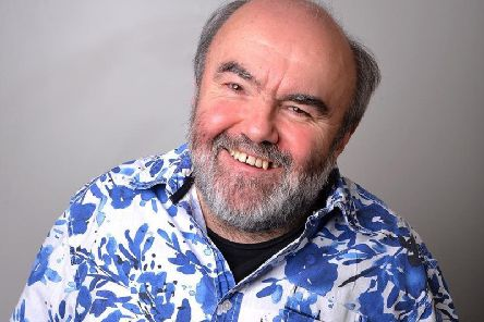Comedian Andy Hamilton has included a question and answer session in his latest gig