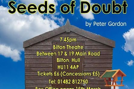 Seeds of Doubt will be on at Bilton Theatre next month