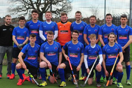 Harrogate Hockey Club Mens 1s have sealed promotion from North Division One. Picture: Gerard Binks