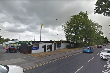 Home sweet home: Harrogate Town AFC will be eligible for promotion following the approval and near completion of three new terrace stands. Picture: Google