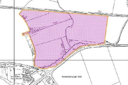 The site which could soon house 400 homes. Picture: Harrogate Borough Council.