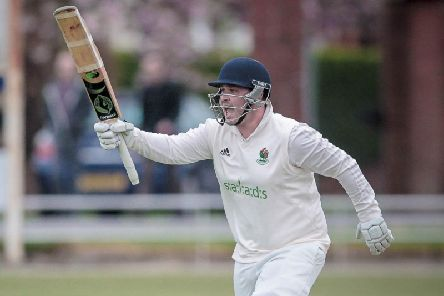 Josh Atkinson is the new skipper of Harrogate CC. Picture: Caught Light Photography