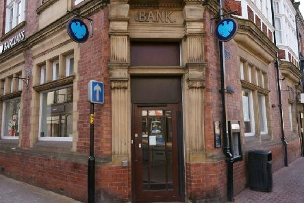 Closed - Barclays on the High Street in Knaresborough