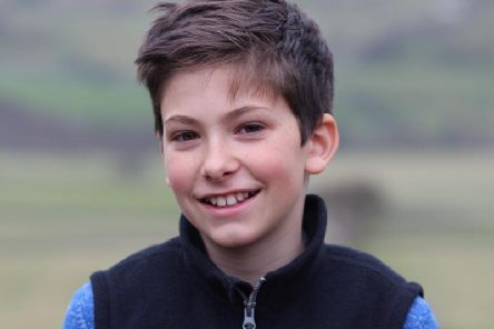 Funny and fabulous - Harrogate St Aidan's schoolboy Frank Ashton who stayed positive to the end when he died from a rare for of cancer earlier this year.