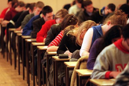 A-Level results have been announced across the Harrogate district today.