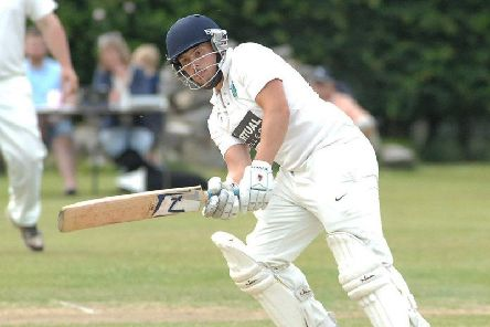 Birstwith CC's George Hirst played a starring role in his side's thrashing of Ouseburn.