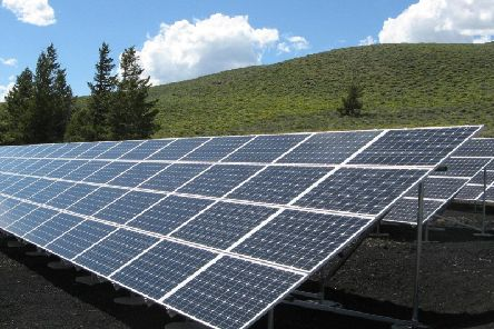 Plans: The application for the 85-hectare solar farm was submitted earlier this year.