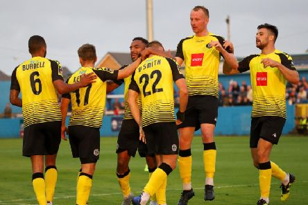 The 2019/20 campaign has been an up and down one for Harrogate Town. Picture: Matt Kirkham