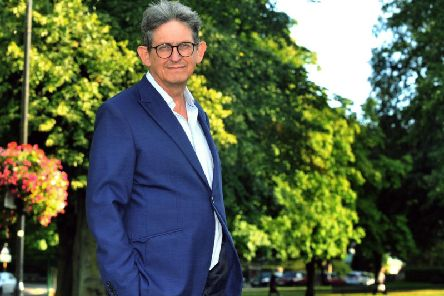 Alan Rusbridger, the former editor of the Guardian, pictured in Harrogate. Pic: Gary Longbottom
