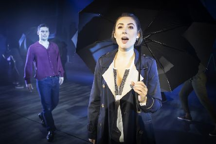 Niall Sheehy and Rebekah Lowings in Ghost The Musical