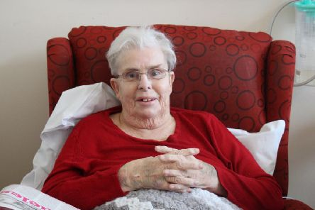 Hospital patient Sandra Williams ended up in hospital for three months after she suffered a fall when visiting her daughter Michelle Williams in Hartlepool for Christmas.