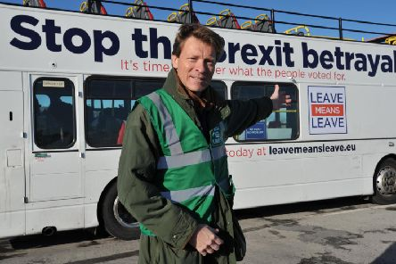Leave Means Leave founder Richard Tice.