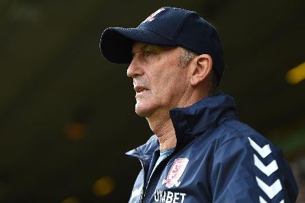 How does Tony Pulis' record compare to his Middlesbrough predecessors?