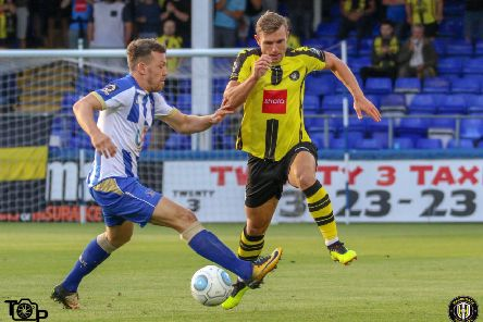 Carl Magnay in action for Pools earlier this season.