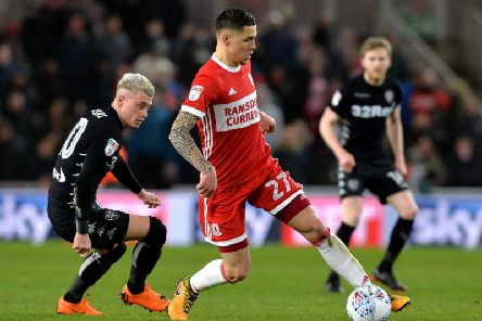 Mo Besic signed for Middlesbrough on loan in August.