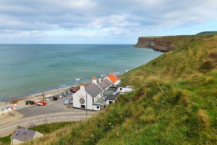 Carl Hislop tried to drown himself by wading into the sea at Saltburn after the incident which led to his original suspended jail sentence.