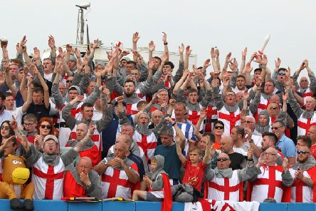 More than 1,100 Hartlepool United fans were at Holker Street to witness Pools' abject performance (Shutterpress).