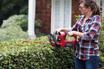 Trimming the hedge is good for you