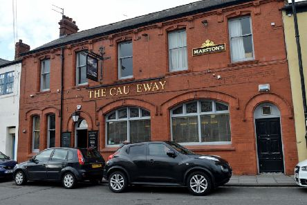 Keegan Stephenson and Tyler Cannon lured their victim to the Causeway pub in Hartlepool before attacking him twice.