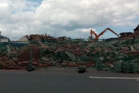 The Longscar building in Seaton Carew has been demolished, but Hartlepool Borough Councils legal notice requires that all of the rubbish and rubble is removed and safely disposed of.