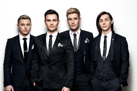 Collabro will perform at Durham Cathedral in November
