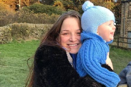 Ashleigh Reeves was left homeless with her nine-month baby in December 2017