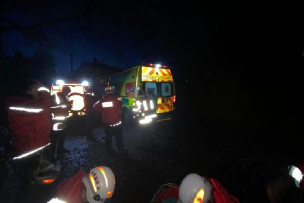 The CVSRT, which are based inMytholmroyd, attended the incident in Bingley
