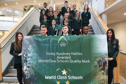 Trinity Academy Halifax awarded World Class Schools mark