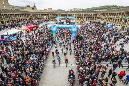 Halifax will once again be a host location for the Tour de Yorkshire this year.