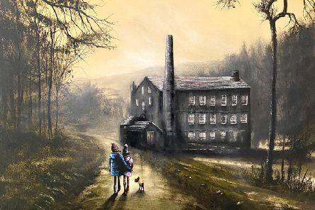 A leisurely stroll past Gibson Mill by Danny Abrahams.
