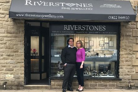 Wayne and Karen Smith, owners of Riverstones Fine Jewellery