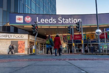 """Overcrowding on peak time trains at Leeds station has been described as """"frightening"""""""
