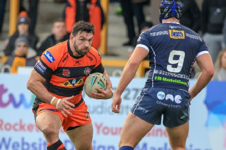 Matt Cook, set to return to action for Castleford Tigers. Picture: Simon Hall